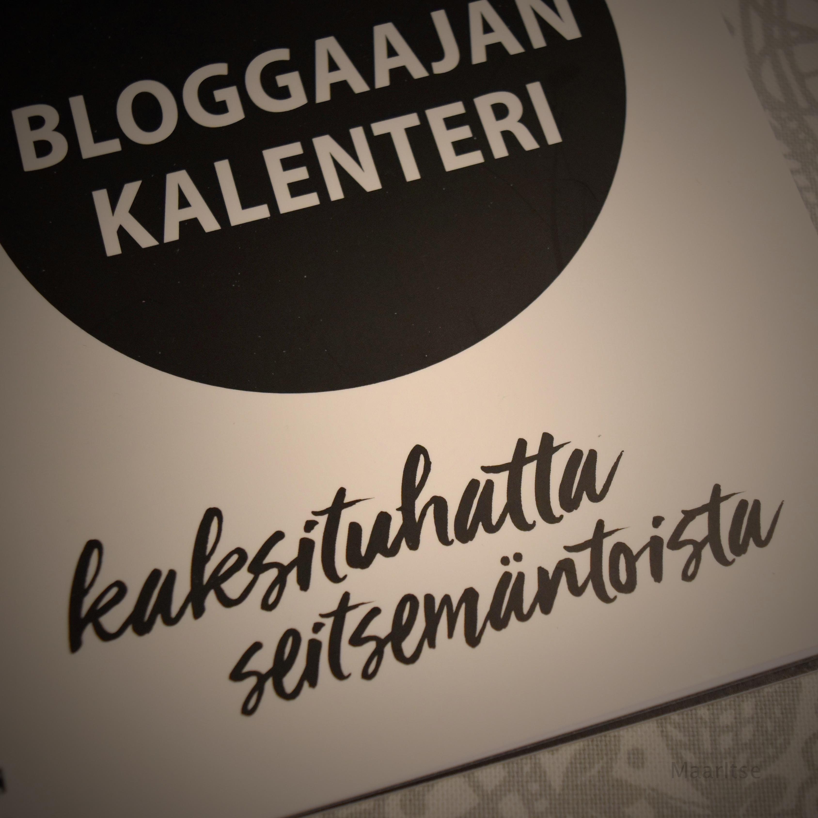 bloggaajankalenteri